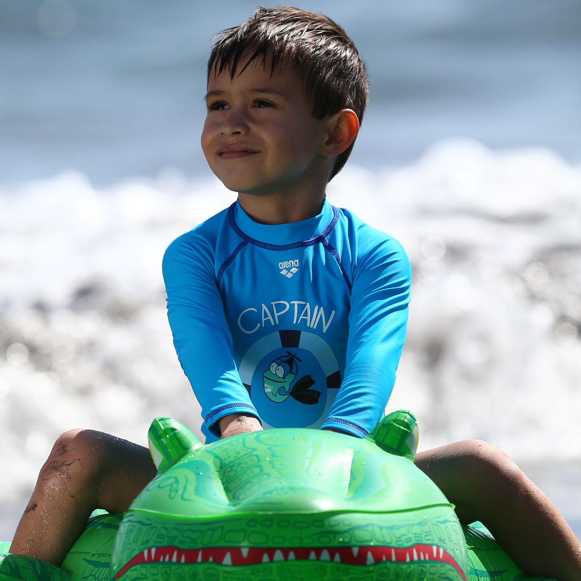 dd17bb1fab19b Arena Water Tribe Kids Boy's langærmet UV T-Shirt