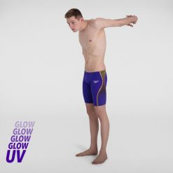 Speedo Fastskin LZR Pure Intent Jammer (Purple/Yellow)